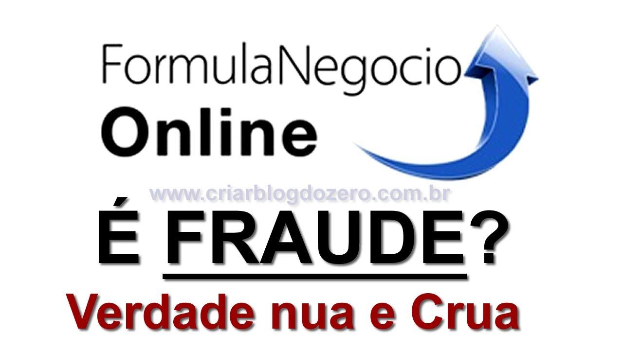 Fórmula Negócio Online é Fraude Não Funciona